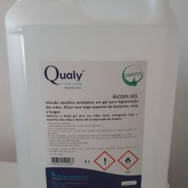 Álcool Gel Qualy 5L